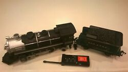 Eztec G Gauge 2050 Engine, Dsp And Prr Coal Tender And Remote Train-scientific Toy