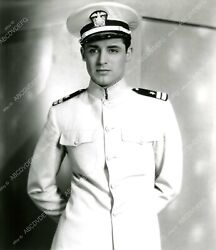 8b20-6158 Handsome Cary Grant In Officers Uniform 8b20-6158