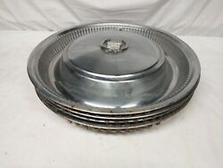 Early 1970's Cadillac Hubcaps 15 Coupe Sedan Deville. Set Of 4