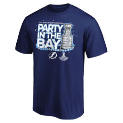 New 2020 Tampa Bay Lightning Stanley Cup Champions T-shirt Parade Celebration