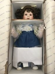 Hamilton Collection Miss Priss Doll By Inga Manders New In Box With Coa D-163
