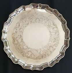 Birks 1937 Chippendale Sterling Silver Tray - Price Reduced