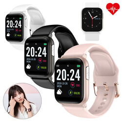 Smart Watch Ecg Heart Rate Blood Pressure Sleep Monitor For Iphone Samsung Moto