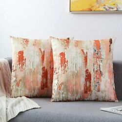 2Pack Throw Pillow Covers Camouflage Soft Pillowcases Home Décor 18quot;x18quot;