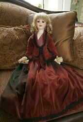 Antique 31 Bisque Doll By J. E. Masson Orig Clothing Lovely  30