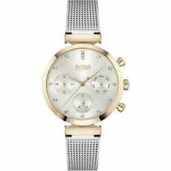 Hugo Boss Ladies Watch Flawless Business Two Tone Day Date 1502551