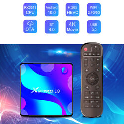 20pcs/lot Dhl Free X88 Pro10 Tv Box Android 10 Rk3318 2.4and5g Wifi Bt 4g/32g 64g