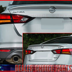 For 2019 2020 2021 Nissan Altima Factory Lip Style Wing Trunk Spoiler Unpainted