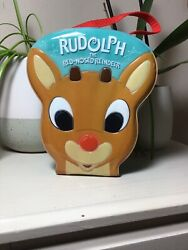 Carlton Cards Rudolph The Red Nose Reindeer 2003 Ornament Case And Ornaments