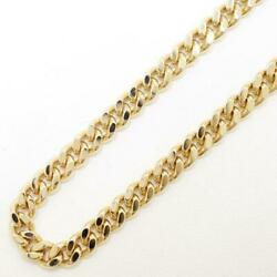Tokuriki 18k Necklace About40cm Kihei 2side About39.9g Free Shipping Used