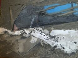 Laddie John Dill Untitled Mixed Media Wall Art Hand Signed And Dated 1976