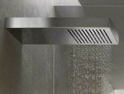 Dornbracht Just Rain 41550979 Shower W Wall Connection Polished Stainless Steel