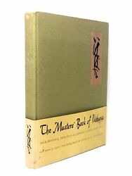 The Masters' Book Of Ikebana Japanese Flower Arranging By Richie And Weatherby
