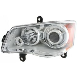 Hid Headlight Lamp Left Hand Side For Town And Country Hid/xenon Driver Lh