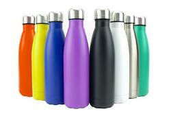 Stainless Steel Water Bottle - Insulated Metal Sport And Gym Drinks Flask All Size