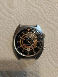 Fortis Compressor Divers Watch Model Marimaster First Production 1970 Auto...
