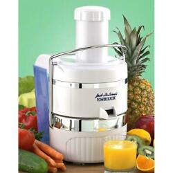 Jack Lalanne Ultimate Power Juicer Produces 30 More Juice Than Other Juicers
