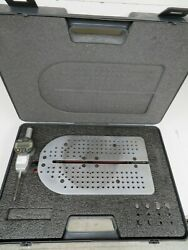 Dyer Wumo - Model 747-00 - Large Gage Id-od Measuring Tables With Tips - Ny46