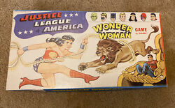 Wonder Woman Vintage Board Game - Featuring The Justice League Rare