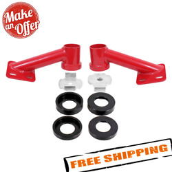 Bmr Suspension Cb005 Red Cradle Bushing Lockout Kit For 2015-2020 Ford Mustang