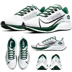 New 2020 Nike New York Jets Zoom Pegasus 37 Running Shoes Unisex Limited Nwt