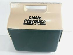 Vintage Little Playmate by Igloo Cooler Green 6 pack Capacity Made in USA $36.70