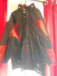 New Marlboro Unlimited Gear Quilted Nylon Coat Winter Jacket Adult Size Large
