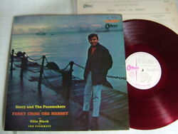 Test Press Red Vinyl / Gerry And The Pacemakers In Ferry Cross The Mersey / Ot