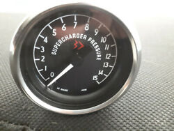 1965-66 Mustang Fastback Gt-350 Reproduction Paxton Supercharger Gauges New