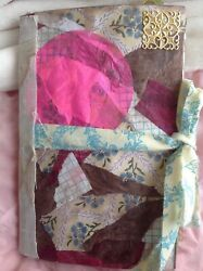 Junk Journal Diary W Beaded Tassel Decorative Metal Plate Lots Of Pages Cool