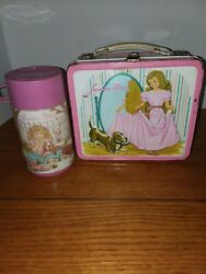 Vintage Junior Miss Lunchbox And Thermos Metal