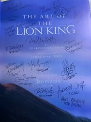 Walt Disney - Art Of The Lion King - Signed By Artists