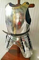Collectible Steel Breast Plate Ancient Muscle Armor Nautical Costume