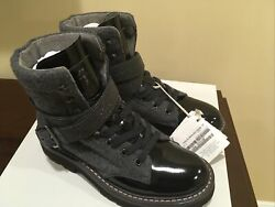 Msrp 2395.00 New Brunello Cucinelli Boots With Monili Sz 37