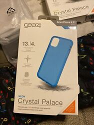 Iphone 11 Pro Max Case Gear4 Advanced Impact Protection D3o Neon Blue