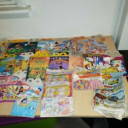 Vintage 80's And 90's Lot Of Mcdonald's Happy Meal Boxes Bags And More Large Lot