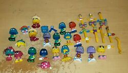 Vintage 1989 Mcdonald's Happy Meal Funny Fry Friends Fry Guys Lot Large Lot
