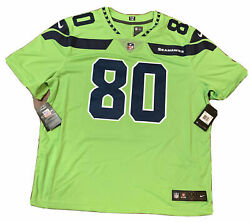 Nike Seattle Seahawks Steve Largent Jersey Size 2xl Color Rush Nwt Authentic