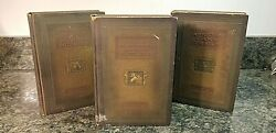 Amazing Lot Of 3 Antique Books By Theodore Roosevelt Don't Miss This 963