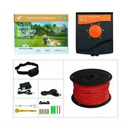 Dog Fence Pet Underground Electric Outdoor Fence Containment System Rechargeable