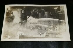 Vintage Old Antique Photo Rare Military Possibly Pearl Harbor