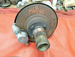 Mgb Mgb Gt Right Front Wire Wheel Upright And New Caliper Assembly Original