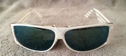 Vintage White Fashion Optics Cool Ray Sunglasses #1285M NWT $6.00