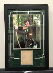 Errol Flynn Signed Autographed Album Page Beckett Certified