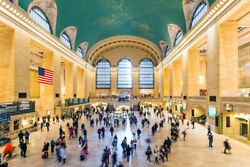 343371 Grand Central Station York City Nyc Photo Glossy Poster Ca