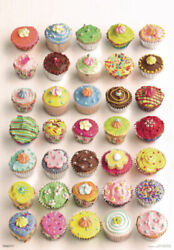 344741 Howard Shooter Cupcakes Decorated Sweets Birthday Cake Food Poster Ca
