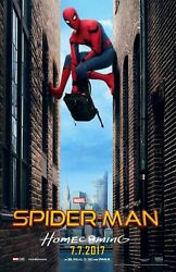346987 Spiderman Homecoming Movie Spiderman Glossy Poster Ca