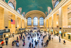 343371 Grand Central Station York City Nyc Photo Glossy Poster Us