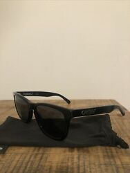 Oakley Frogskin LX Black Acetate Sunglasses w o Box $72.00