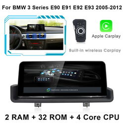Android 10.0 Car Gps Stereo Carplay For Bmw 3 Series E90 E91 E92 E93 2005-2012